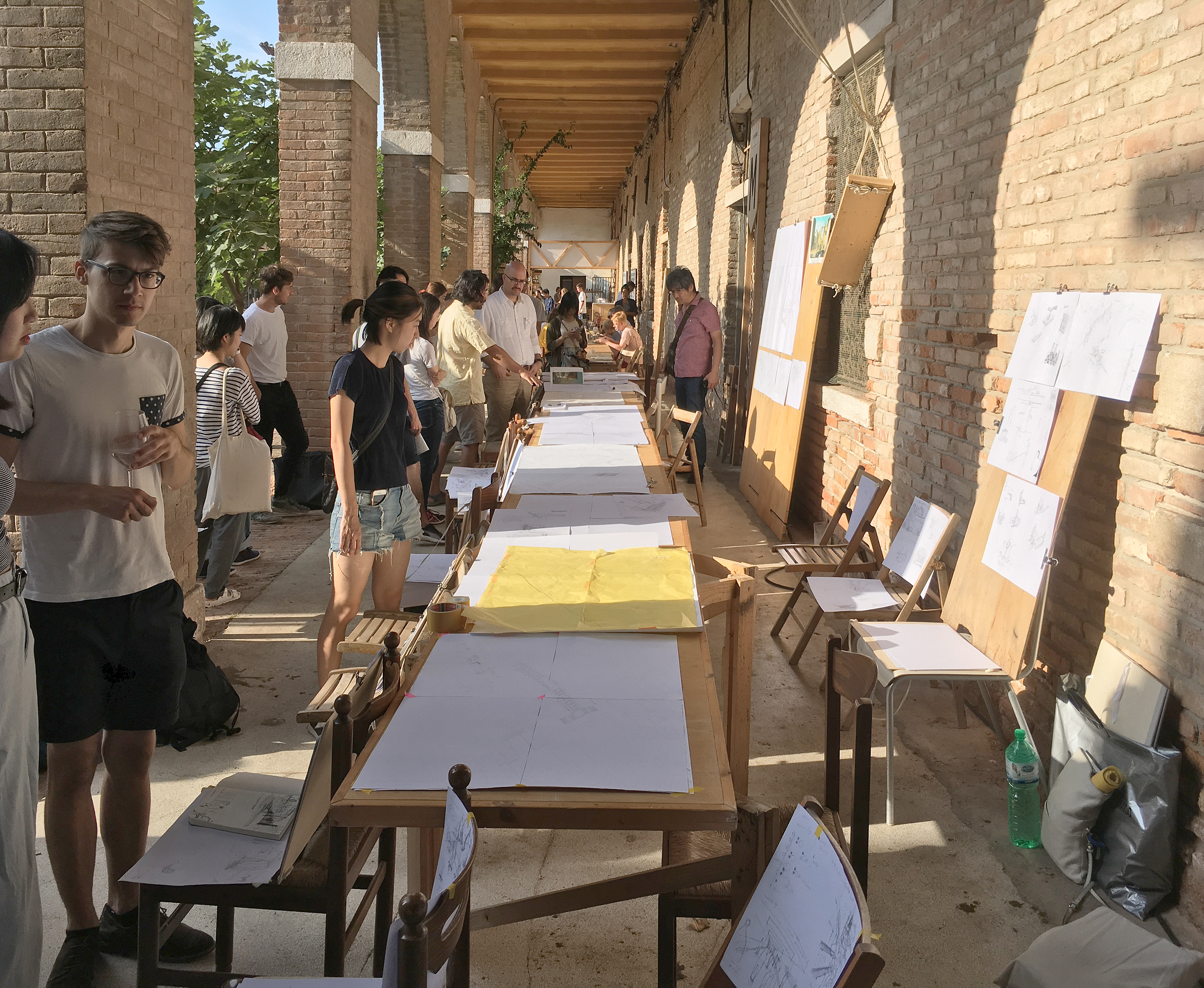 "Venice Summer School ""Architectural Ethnography"", Public"